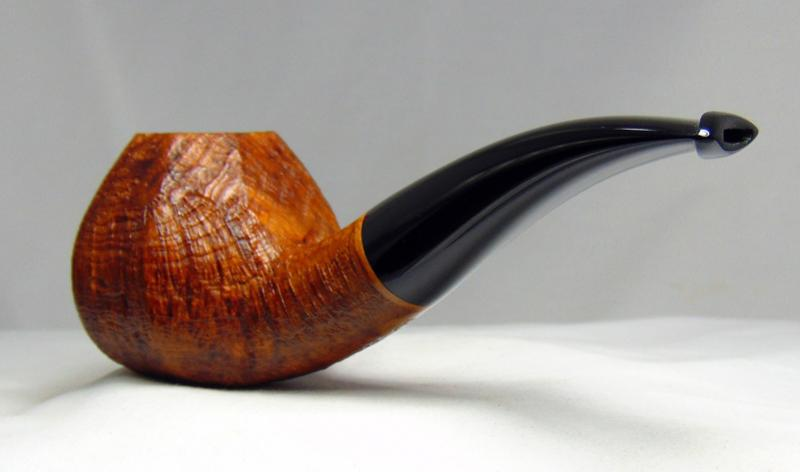 Rdpipes 117 Large Blasted Paneled Brandy