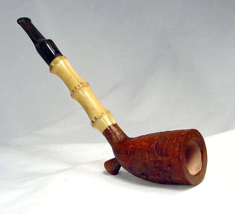 Rdpipes 89 Blasted Bamboo Cutty
