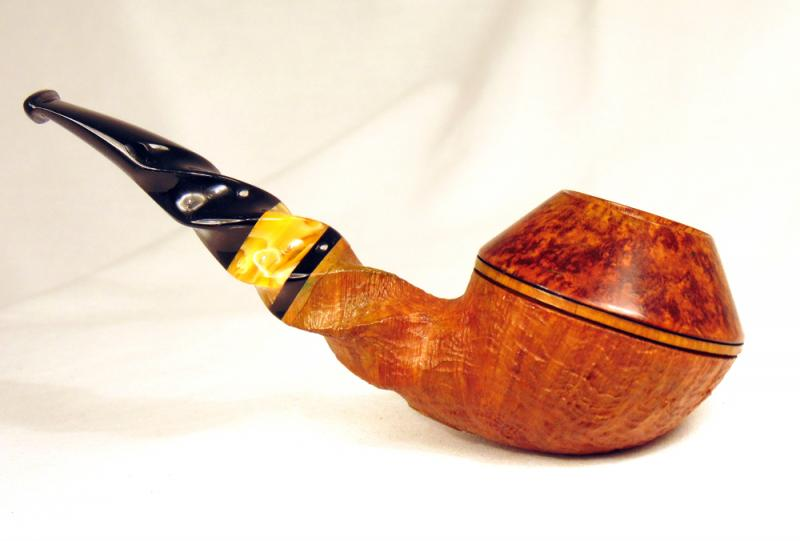 Rdpipes 96 Partially Blasted Twisted Bulldog